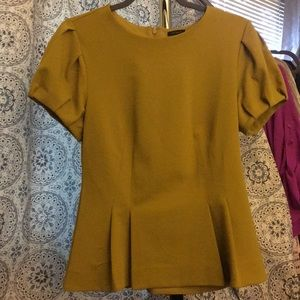 Ann Taylor Beautiful peplum blouse